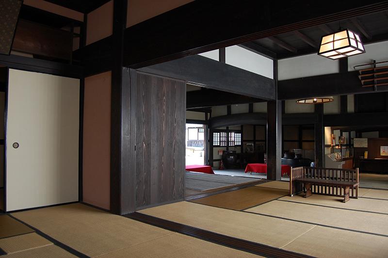 大阪・杉山家住宅の内観